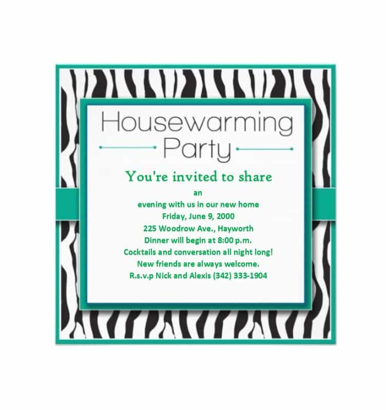 32 Format House Party Invitation Template With Stunning Design with House Party Invitation Template