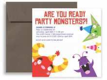 32 Format Kid Birthday Party Invitation Template Word Now by Kid Birthday Party Invitation Template Word