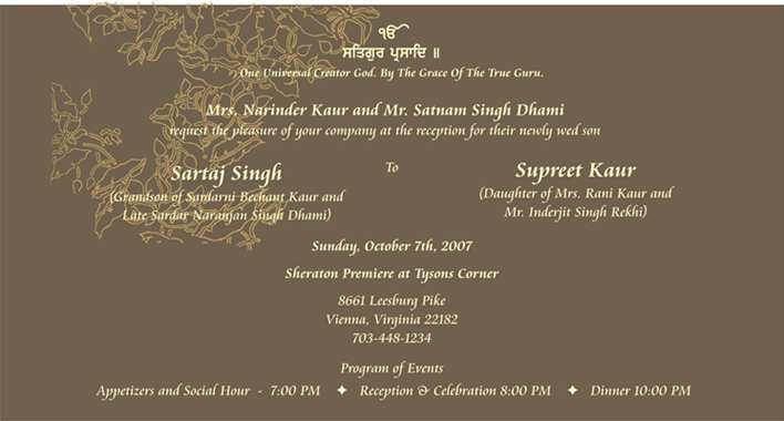 32 Free Reception Invitation Card Format India Templates by Reception Invitation Card Format India