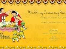 32 Printable Indian Wedding Invitation Template for Ms Word with Indian Wedding Invitation Template