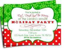 32 Report Christmas Party Invitation Template Editable Maker by Christmas Party Invitation Template Editable