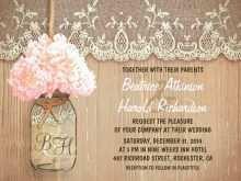 32 Standard Jar Wedding Invitation Template Photo by Jar Wedding Invitation Template