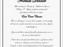 Sample Party Invitation Letter Template