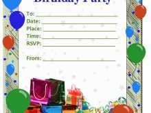 33 Blank Birthday Invitation Templates Vector Free Download Download for Birthday Invitation Templates Vector Free Download