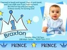 33 Creative Birthday Invitation Template For Baby Boy in Word with Birthday Invitation Template For Baby Boy