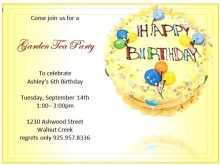 33 Creative Editable Birthday Invitation Template Photo with Editable Birthday Invitation Template