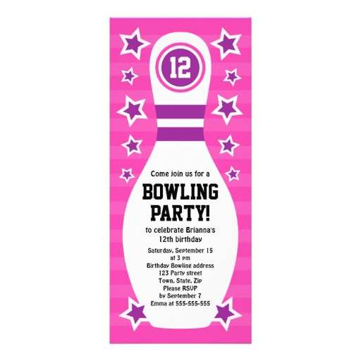 33 Customize Party Invite Template Bowling Download by Party Invite Template Bowling