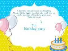 33 Format Invitation Card Example Birthday Now by Invitation Card Example Birthday