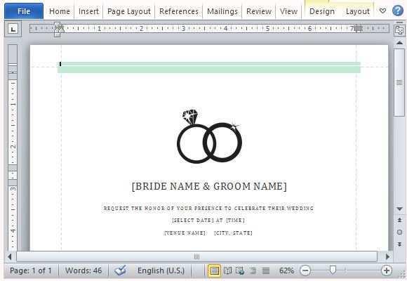 33 Free Design Your Own Wedding Invitation Template Photo by Design Your Own Wedding Invitation Template