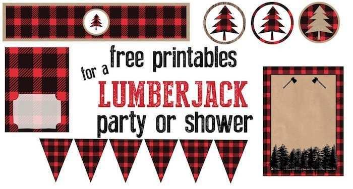 33 Free Printable Lumberjack Birthday Invitation Template for Ms Word for Lumberjack Birthday Invitation Template