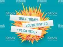 33 Online Vector Invitation Template Online With Stunning Design with Vector Invitation Template Online