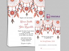 33 Printable Boho Wedding Invitation Template Formating with Boho Wedding Invitation Template