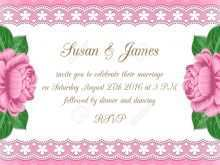 Pastel Wedding Invitation Template