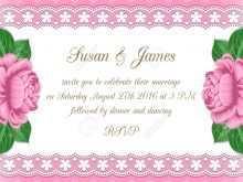 Pastel Wedding Invitation Template