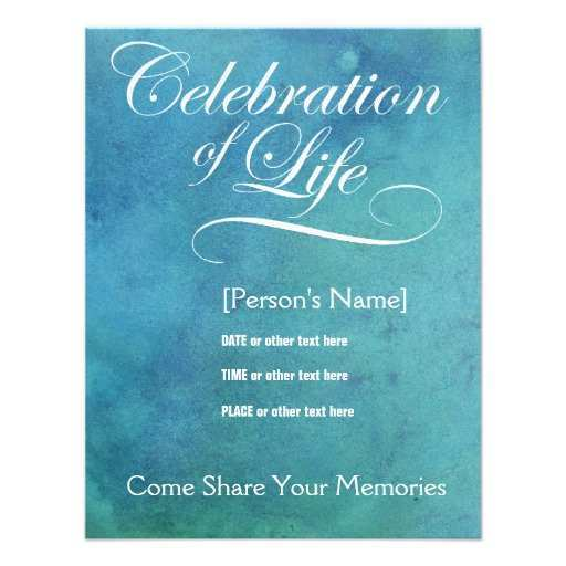34 Best Elegant Memorial Invitation Template Download with Elegant Memorial Invitation Template