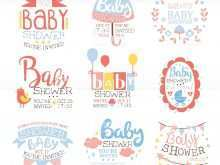 34 Free Printable Baby Shower Invitation Template Vector Formating with Baby Shower Invitation Template Vector