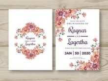 34 Free Printable Blank Wedding Invitation Templates Hd PSD File by Blank Wedding Invitation Templates Hd