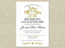 34 Online Anniversary Party Invitation Template in Word by Anniversary Party Invitation Template