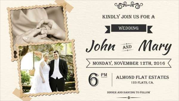 34 Printable Invitation Card Format For Marriage Templates with Invitation Card Format For Marriage