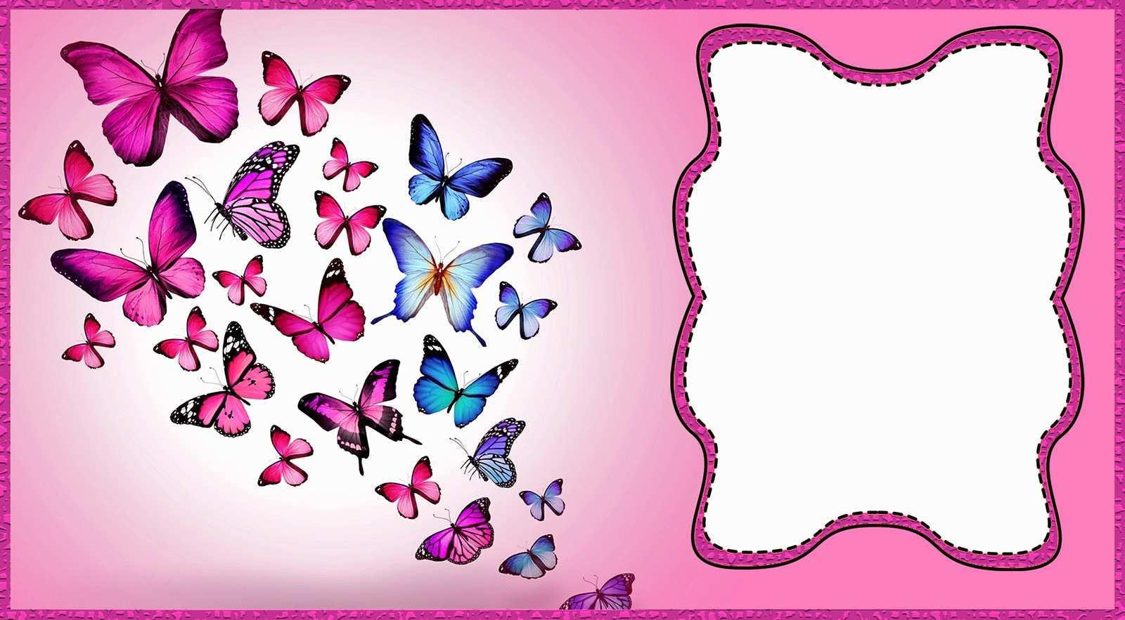 34 Standard Birthday Invitation Butterfly Template Layouts by Birthday Invitation Butterfly Template