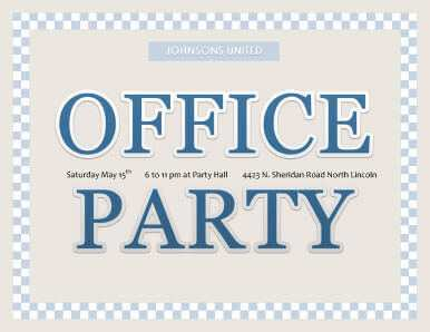 34 Visiting Office Party Invitation Template Now for Office Party Invitation Template