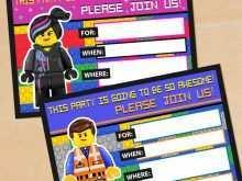 Ninjago Birthday Invitation Template Free