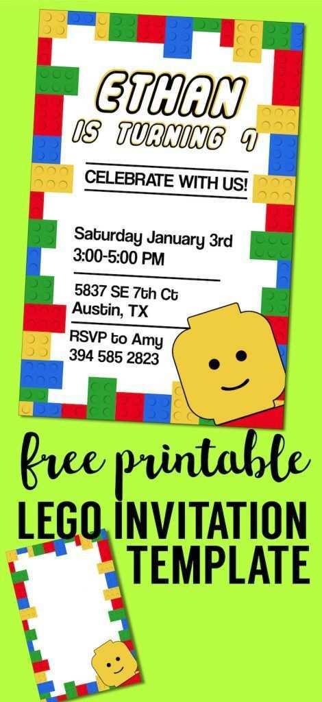 35 Creating Birthday Invitation Template Lego PSD File by Birthday Invitation Template Lego