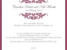 35 Customize Example Of Civil Wedding Invitation Card Templates with Example Of Civil Wedding Invitation Card