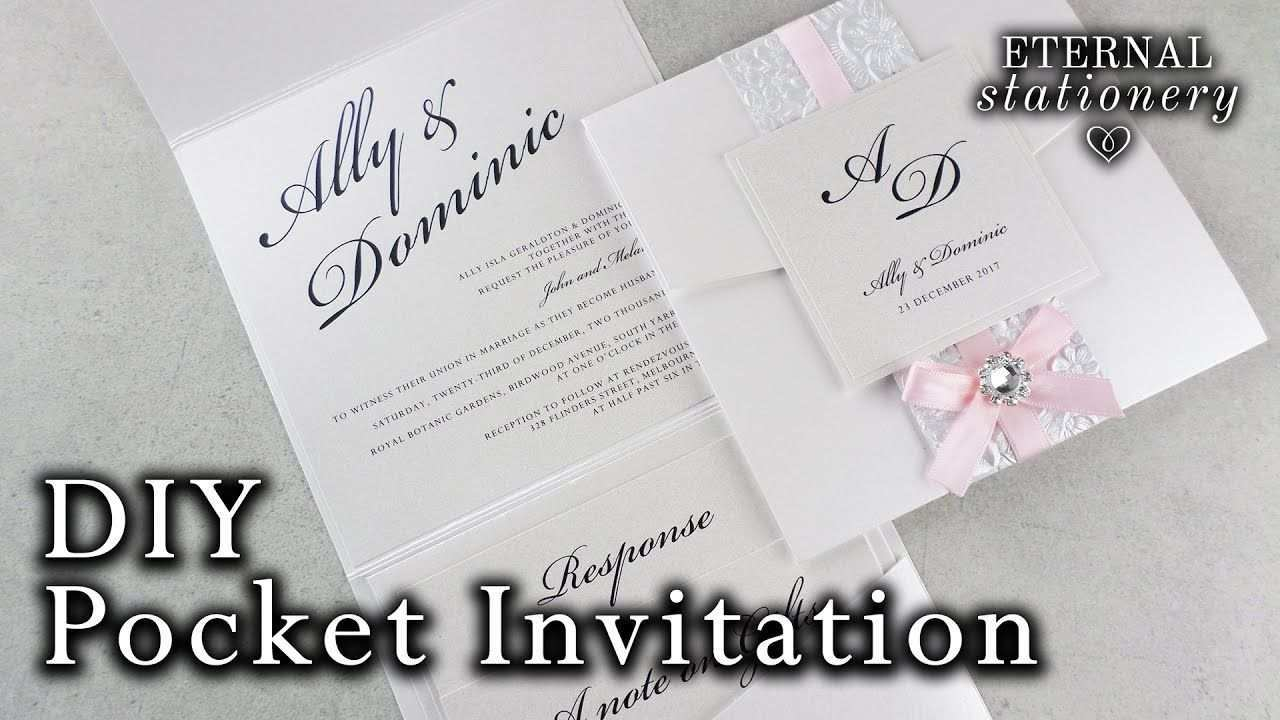 4 Free Reception Invitation Example Youtube for Ms Word by