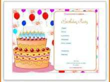 35 How To Create Word Birthday Party Invitation Template Layouts for Word Birthday Party Invitation Template