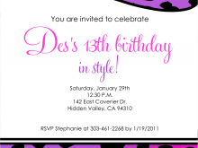 35 Online 12 Year Old Boy Birthday Party Invitation Template Maker by 12 Year Old Boy Birthday Party Invitation Template