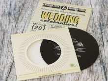 35 Online Vinyl Record Wedding Invitation Template Now for Vinyl Record Wedding Invitation Template