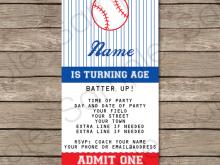 35 Printable Birthday Invitation Ticket Template Free Formating by Birthday Invitation Ticket Template Free