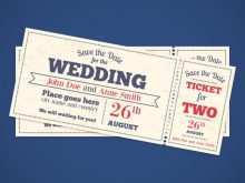 36 Adding Wedding Invitation Ticket Template Vector Free Download For Free by Wedding Invitation Ticket Template Vector Free Download