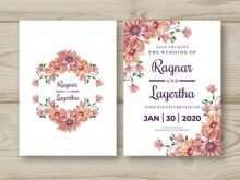 36 Best Blank Wedding Invitation Card Design Template Free Download With Stunning Design for Blank Wedding Invitation Card Design Template Free Download
