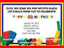 36 Create Ninjago Birthday Party Invitation Template Free for Ms Word by Ninjago Birthday Party Invitation Template Free