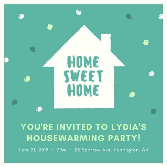 36 Customize House Party Invitation Template in Photoshop with House Party Invitation Template