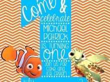 36 Customize Our Free Nemo Birthday Invitation Template PSD File by Nemo Birthday Invitation Template