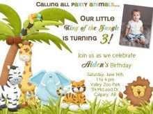 36 Customize Our Free Safari Birthday Invitation Template Free Now by Safari Birthday Invitation Template Free