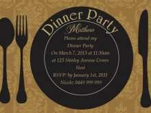 36 Free Dinner Invitation Template Ppt Photo by Dinner Invitation Template Ppt