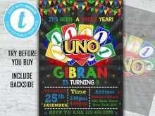 36 Free Uno Birthday Invitation Template Free Maker for Uno Birthday Invitation Template Free