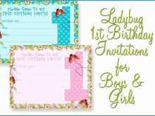 36 How To Create Blank 1St Birthday Invitation Template Layouts by Blank 1St Birthday Invitation Template
