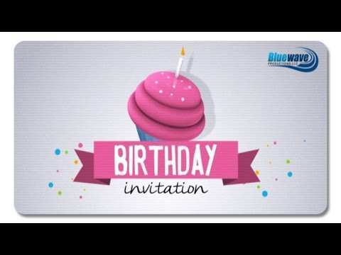 36 Online Birthday Invitation Template After Effects PSD File for Birthday Invitation Template After Effects