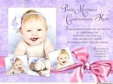 36 Printable Example Of Invitation Card For Christening for Ms Word by Example Of Invitation Card For Christening