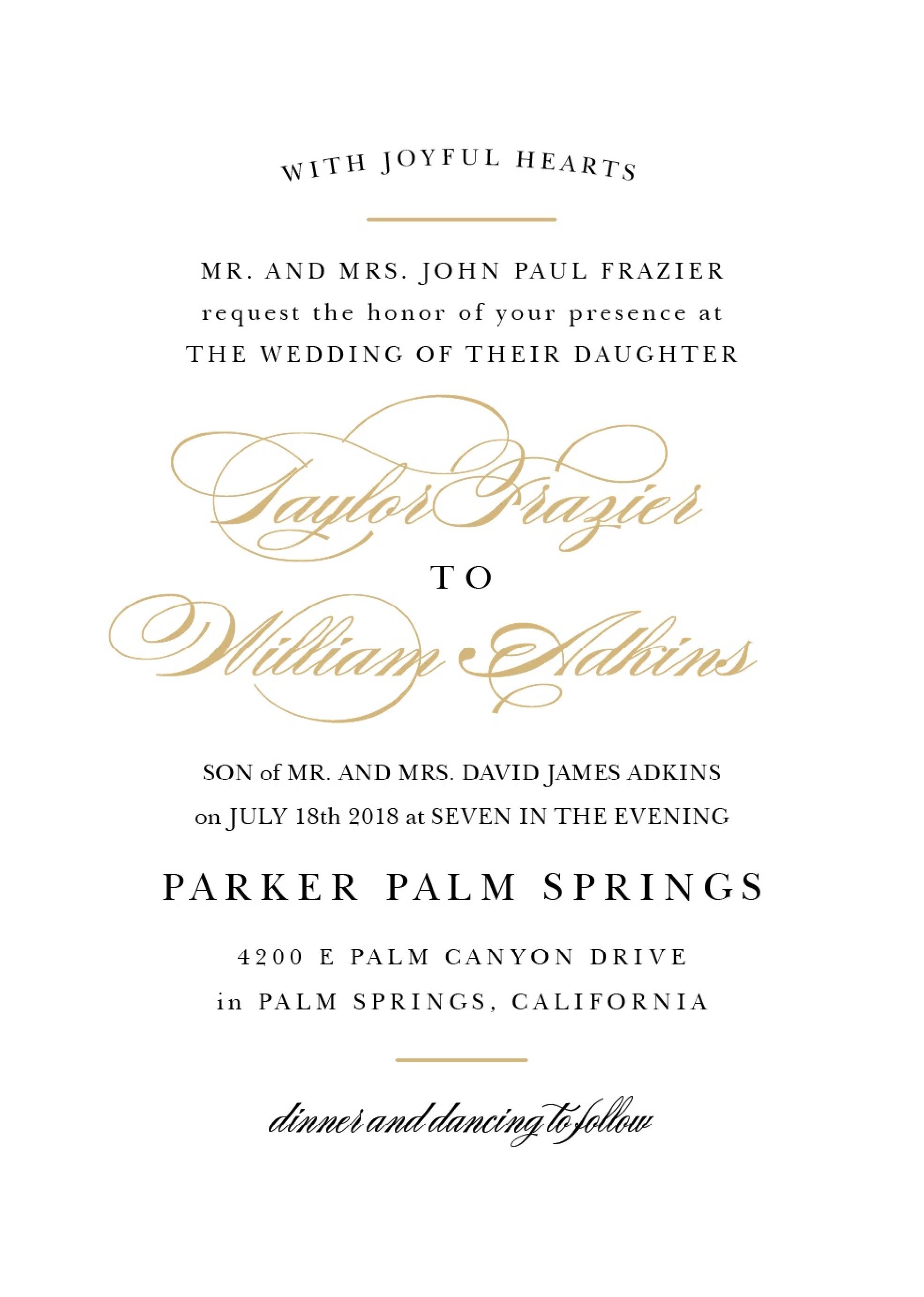 37 Adding Example Of Wedding Invitation With Reception Wording Download by Example Of Wedding Invitation With Reception Wording