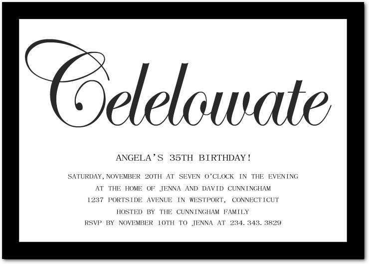 37 Creating Birthday Invitation Template Adults Layouts for Birthday Invitation Template Adults