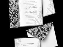 37 Creative Black And White Wedding Invitation Template Templates with Black And White Wedding Invitation Template