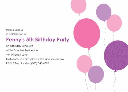 37 Creative Kiddie Birthday Invitation Template for Ms Word by Kiddie Birthday Invitation Template