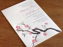 37 Free Printable Japanese Wedding Invitation Template Formating by Japanese Wedding Invitation Template