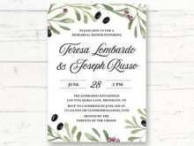 Greek Party Invitation Template